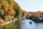 彩る秋景色 小諸城址と長瀞渓谷、群馬の名湯磯部温泉