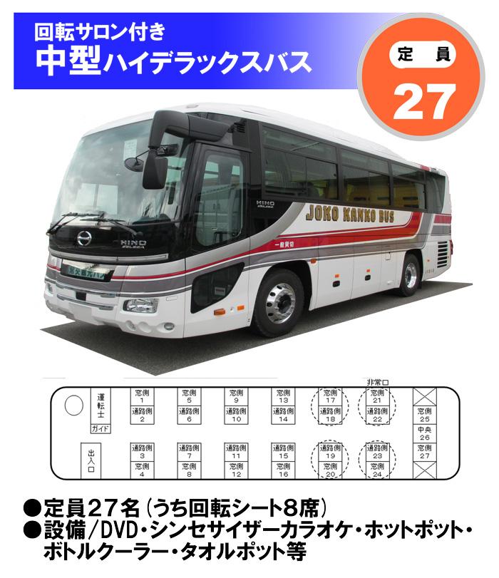 中型ハイデラックスバス