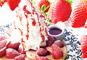 プレミアムないちご「スカイベリー」とふわふわ天使のパンケーキ