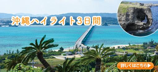 沖縄本島のゴールデンルートをめぐる 沖縄ハイライト3日間