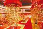 日本三大つるし飾り「湊町酒田の傘福」、べに花の里「等身大のお雛様」と湯野浜温泉「亀や」