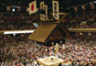 枡席で観る大相撲一月場所 両国国技館