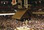 枡席で観る大相撲五月場所 両国国技館